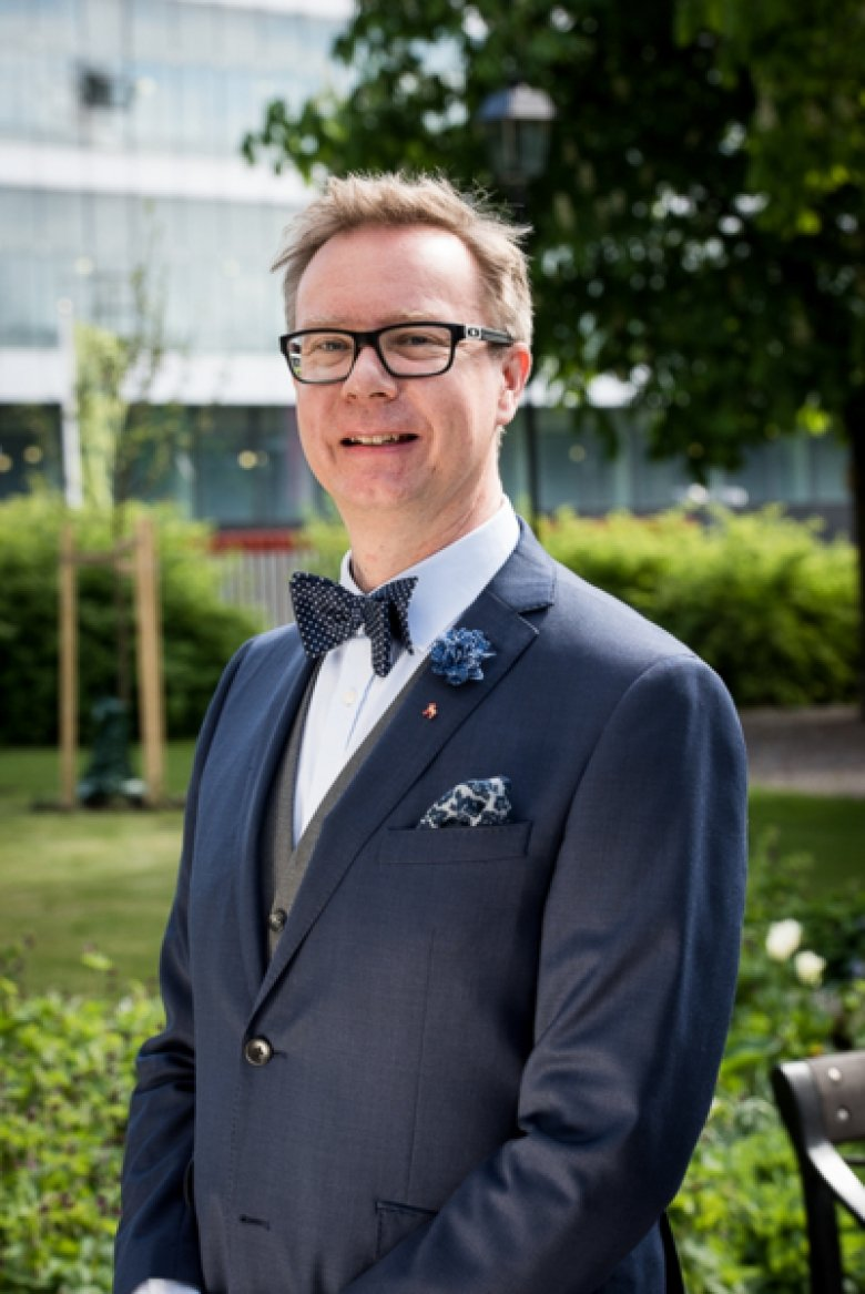 Björn Lennhed, graduate from Master's courses in dementia care for physicians